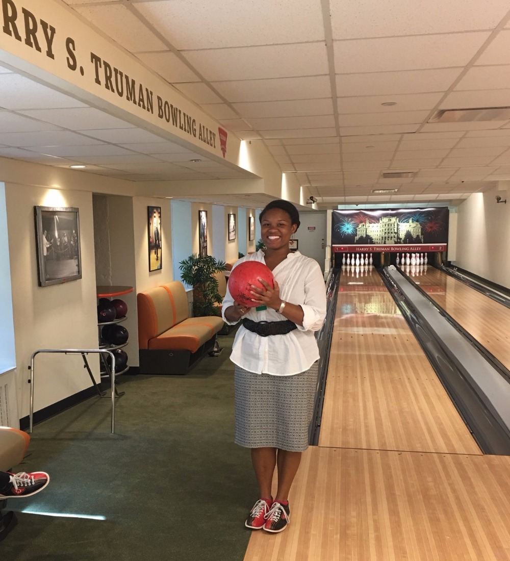 White House Truman Bowling Alley