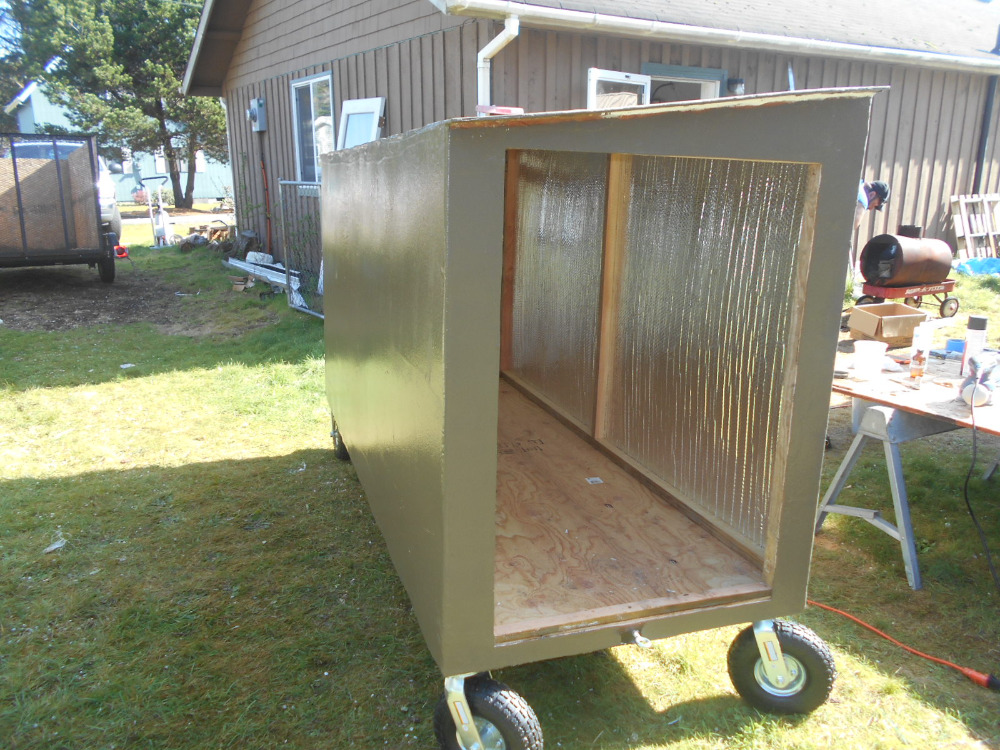 Portable Homeless Shelter : Fundraiser by pvgz addams portable homeless shelters