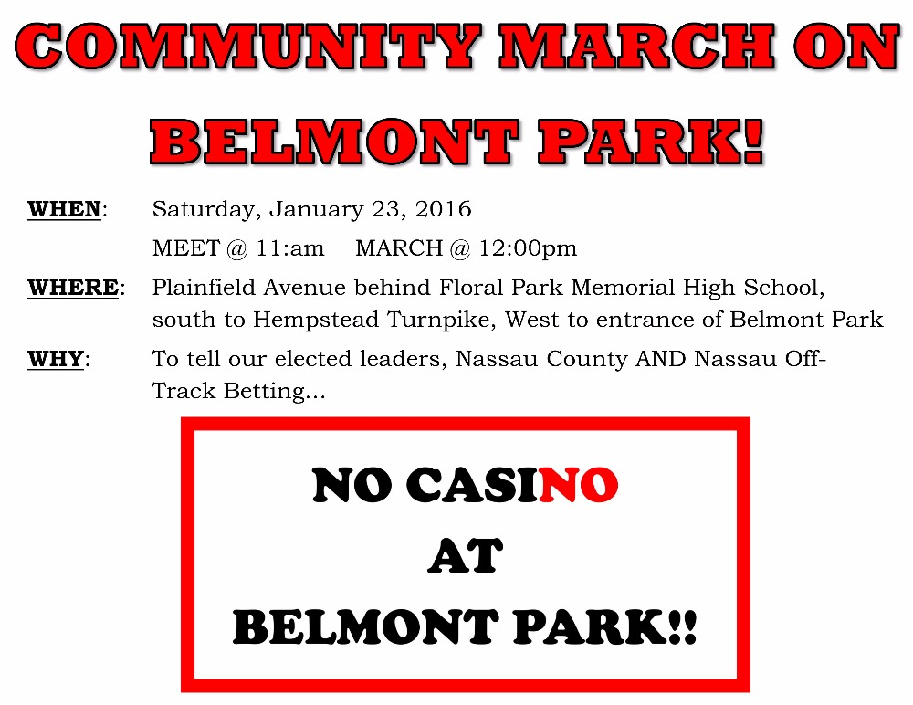 Belmont casino march
