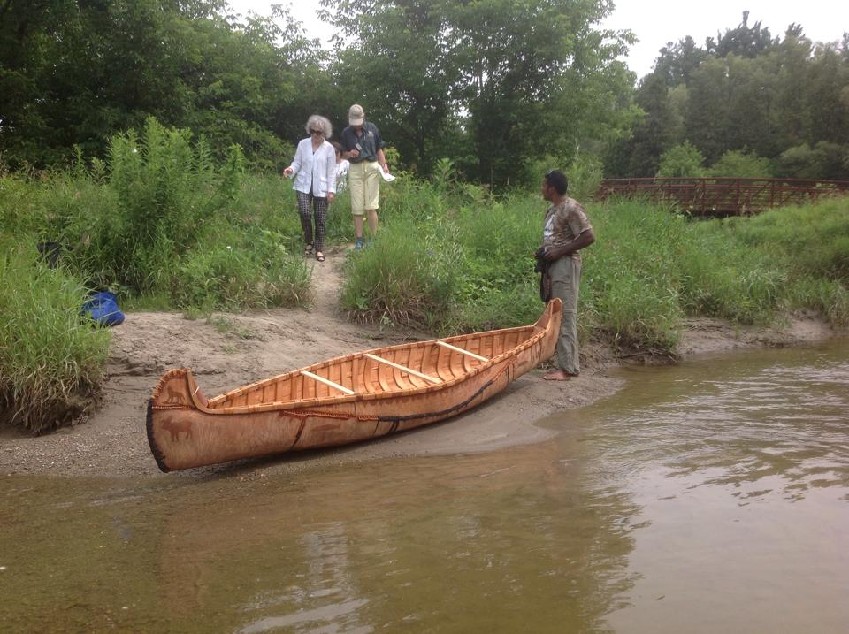 First Nations House Canoe At McMichael Drink In 10 Yrs Since Being Built