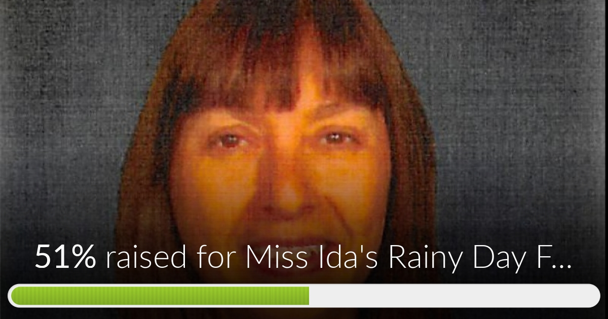 Fundraiser for Ida Martinez by Cassie Hay : Miss Ida's ...